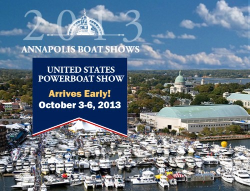 Annapolis Power Boat Show – Oct 2013